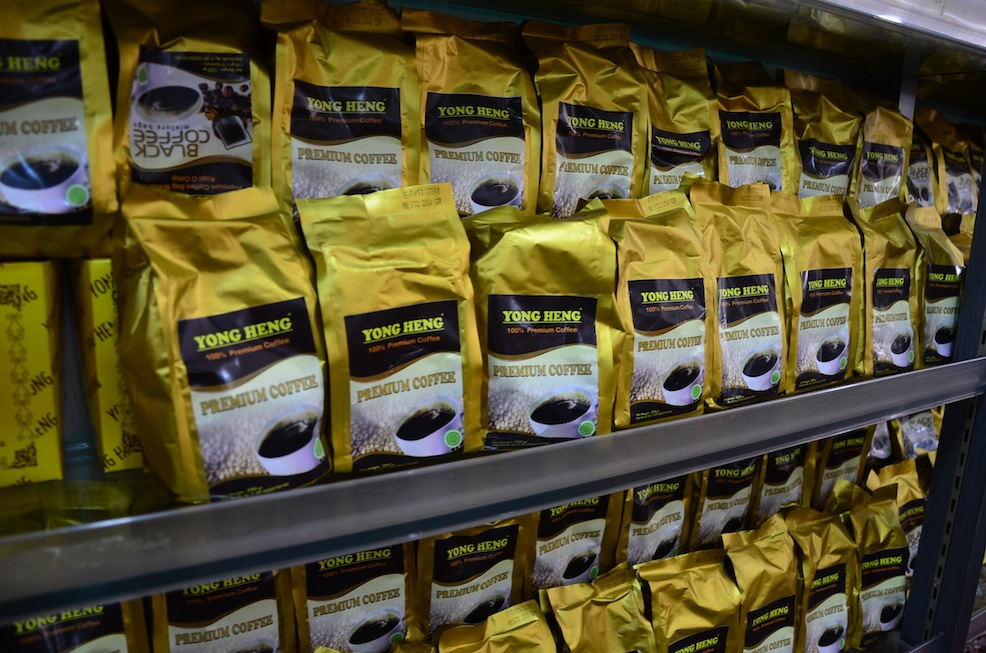 Local coffee beans in Batam